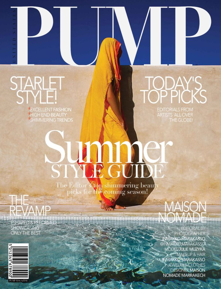 PUMP Summer Style Guide Vol1 August 2018 - photographer - marrakech - inmakko-marakasso